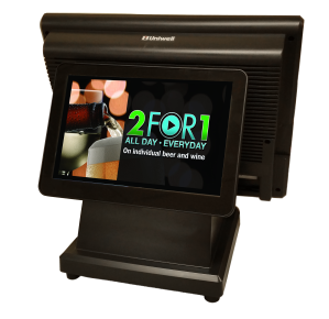Take advantage of the promotional opportunities that a rear display provides
