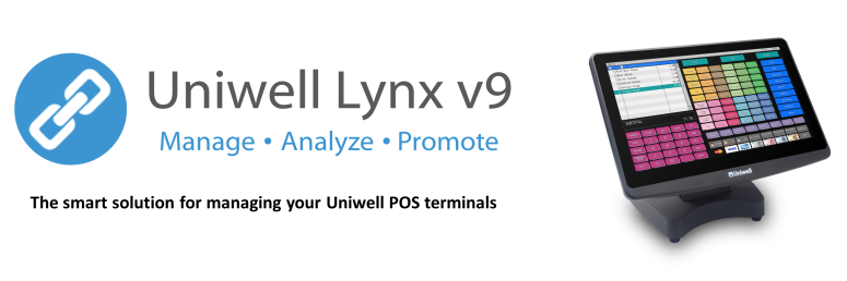 Uniwell Lynx is designed to help you get the most out of your Uniwell point of sale system